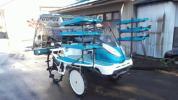 クボタ 田植機 NSU67 6条植え パワステ 施肥機 ブロア 水平