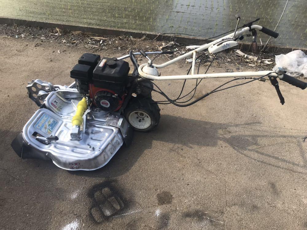 OREC オーレック ウィングモア 自走式草刈機 芝刈り機 WM716TL エンジン始動確認 中古