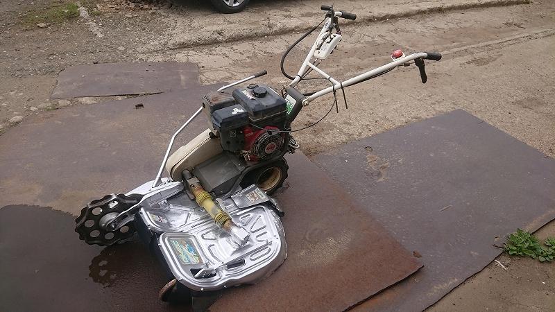 オーレック 法面 畦草刈機 二面 ウィングモア 刈幅70cm 二駆 バック付 WM736 実働 中古 6馬力