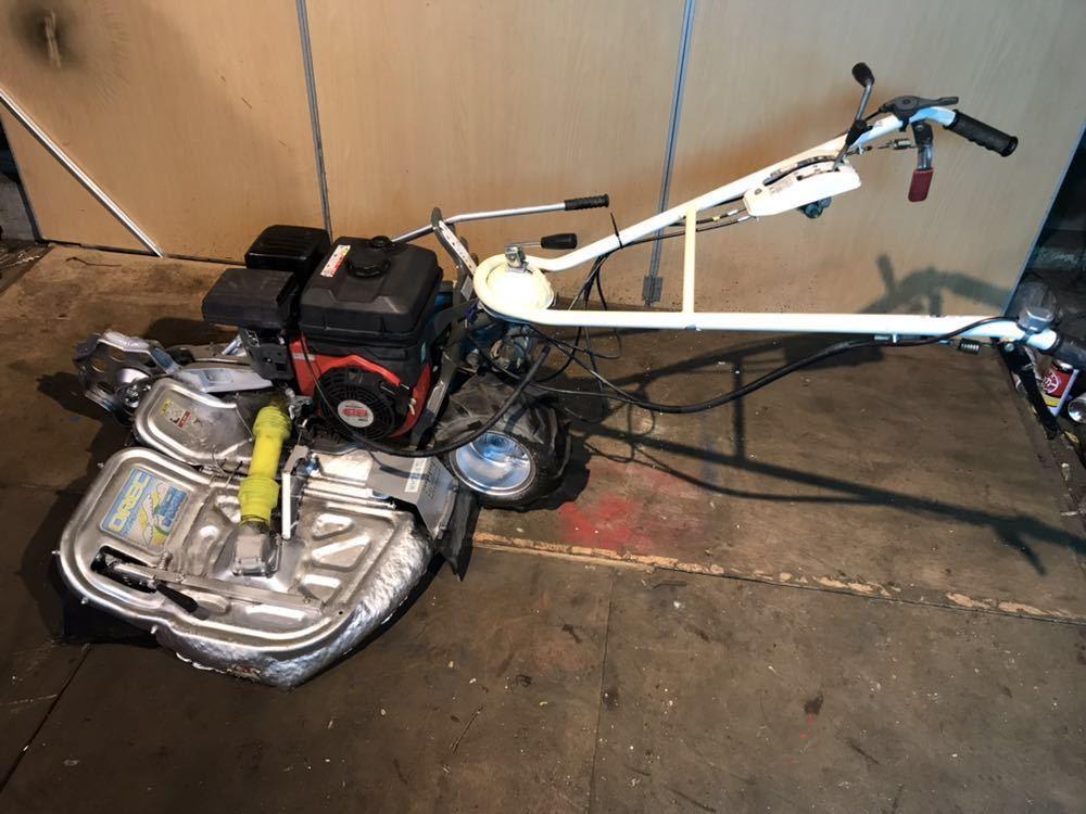 OREC オーレック あぜ草刈機 ウィングモア WM726TL エンジン始動確認