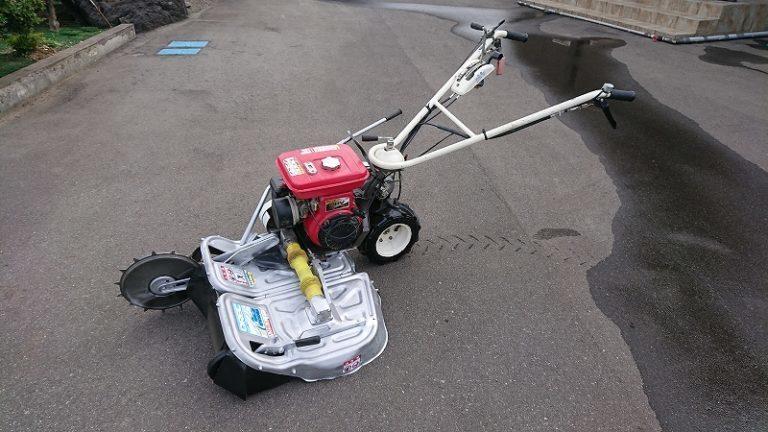 ウィングモア 草刈機 オーレック WM706 刈幅70m 畦草刈機 簡易整備 美品 中古 ロビン EH17 6馬力