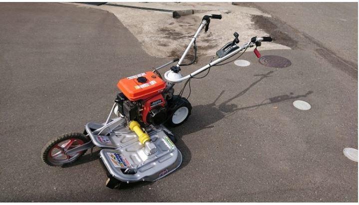 オーレック 法面 畦草刈機 ウィングモア WM606A 整備済 刃新品 6馬力 中古 軽量タイプで人気
