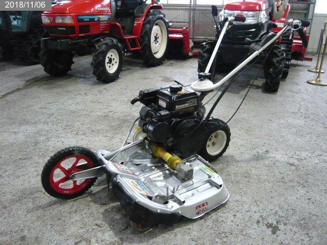オーレック:WM606A:ウィングモア:二面:草刈機:芝刈機:5.6馬力:ダブルブレード:畦草刈機:あぜ草刈機 中古