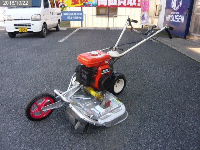 オーレック:WM606B:ウィングモア:草刈機:6馬力:自走:2面:畦草刈機 中古