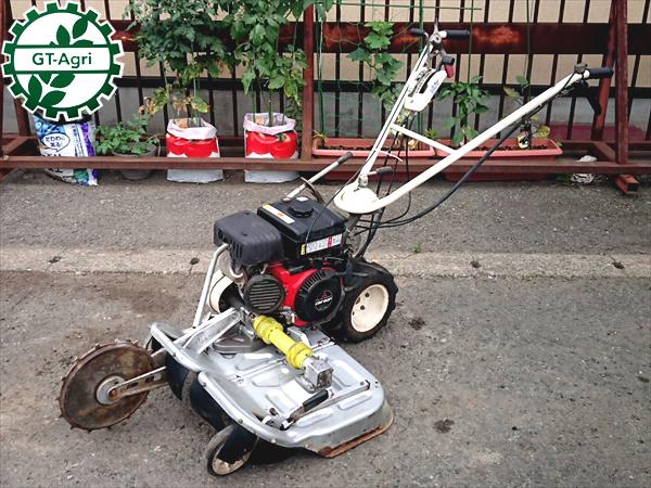 OREC オーレック ウイングモア WM606D? 自走式草刈機 草刈り 6馬力■ナイフ新品■【整備済み】 中古
