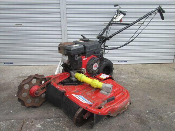 共立 キョーリツ AZ 726 TL ウィングモア 自走式 二面 バック付き あぜ草刈機 6.3馬力 2WD 中古
