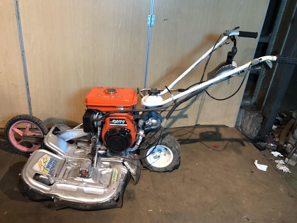 orec オーレック ウィングモア 自走式 草刈機 芝刈り機 WM606A エンジン始動確認 中古