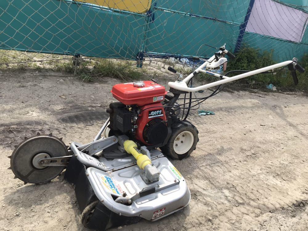 OREC オーレック WM606D ウィングモア 自走式 あぜ草刈り機 草刈り 6馬力 中古