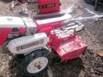 ホンダ 耕運機 農用トラクター F850 ガソリン 7馬力 タイヤ極上 実働品 中古