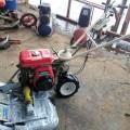 オーレック ウィングモア WM606D 二面畦(あぜ) 草刈機 大修復 整備塗装済 予備のカバーもセット