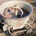 コンクリート モルタル ミキサー 撹拌(かくはん)機 100V 中古 状態良好