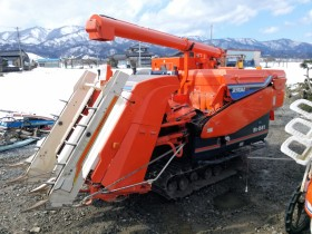 クボタ コンバイン 3条 R1-241G スイスイデバイダ付 509h クローラ極上 現状