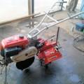 シバウラ 1輪 管理機 耕運機 ハンドル回動 正転逆転付 SC400 4馬力 整備済 中古