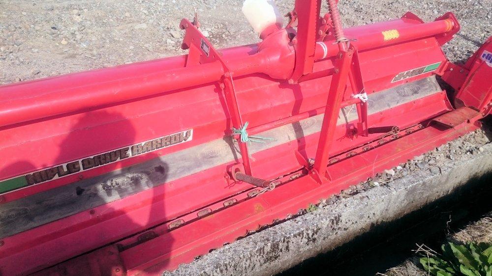 トラクター用 ニプロ ドライブハロー 代掻き HR2400B 実働品 中古品 現状