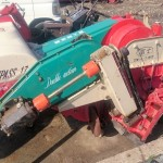 富士 トラクター用 畦塗機 あぜぬり ゼロー2 コンパス17 実働品 中古 現状