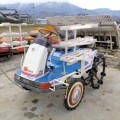 イセキ 6条田植機 PA60HD モンロー(自動水平)付 ダブル車輪 319h 中古 現状