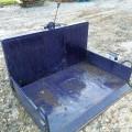 富士トレーラー リアバケット 整地キャリア ダンプ 自家塗装 中古