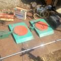 認証工場工具 ターニングラジアスゲージ トーインゲージ キャンバーキャスターキングピンゲージ ブレーキブリーダー等 一式 中古