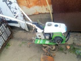 マメトラ ミニ耕運機 管理機 ティラー FA76D 2馬力 整備 実働中古 家庭菜園などに