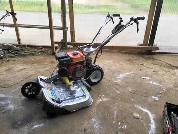 4馬力 オーレック ウィングモア 二面畦 (あぜ) 草刈機 WM604A 整備済 中古