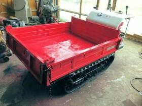 サンケー 剛力 クローラ 運搬車 6馬力 キャリアダンプ SC-900-D 積載450kg 整備 実働 塗装 中古品
