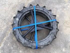 SPU クボタ用 田植機 社外車輪 前輪 2本セット 650×95 中古品