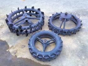 クボタ用 田植機 社外車輪 前輪 後輪 補助車輪 ブリヂストンセット 良品 中古