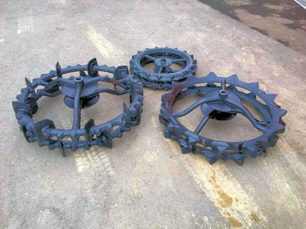 ヤンマー 田植機 車輪セット 前輪(2.50-17) 後輪(33.5×5) 補助車輪(31.5×3) 中古 状態良好