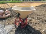ササキ 肥料散布機 ブロードキャスター フリッカータイプ GF261 容量260ℓ 中古
