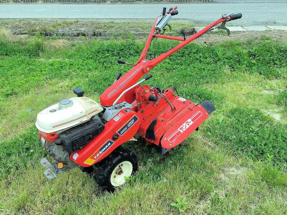 ヤンマー管理機 耕運機 PRT55 ハンドル逆転付 5.5馬力 中古 実働品