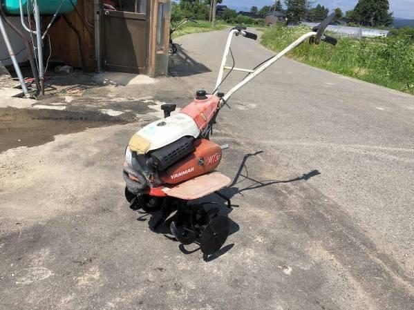 ヤンマー 耕運機 管理機 マイテイラー ミニティラー MT310 カバー割れ有 実働品 中古