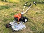 オーレック ウィングモア 二面畦 (あぜ) 草刈機 WM604 4馬力 ダブルタイヤ 整備塗装済 中古 爪新品