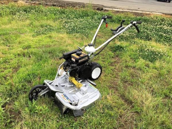 オーレック ウィングモア 二面畦草刈機WM604A 4馬力ナイフネックガード・爪新品搭載