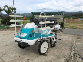 クボタ 6条 乗用 田植機 SPU65 施肥機 モンロー付 587h 整備 美品 中古