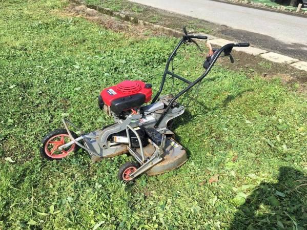 ホンダ 自走二面畦(あぜ)草刈機 AZ660 整備済 実働品 中古美品
