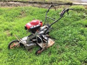 共立 自走二面畦(あぜ)草刈機 AZ660 整備済 実働品 中古美品