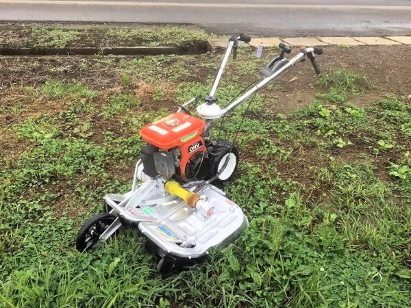 オーレック ウィングモア 2面畦(あぜ) 草刈機 WM604A 整備済 極上美品 中古