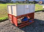 齋藤農機 籾コンテナ グレンタンク トラックコンベア KD-110 実働 キャスター付属