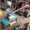 齋藤農機製 GC-S500 斜面 法面畦草刈機 スバイダーモア 4輪 ジャンク 中古