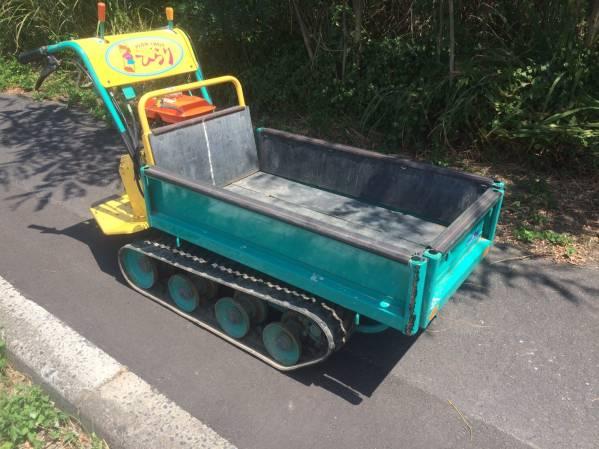 筑水キャニコム 運搬車 小型運搬車 BFP307 完全実働品 中古