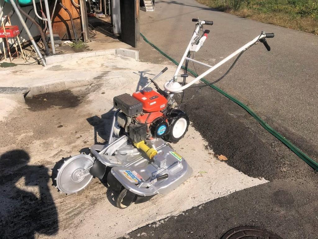 ウィングモア WM606D GR170搭載 畦(あぜ)草刈機 整備済 中古