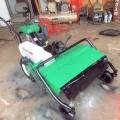 シバウラ ハンマーナイフモアー 草刈機 FE751 8馬力 完全整備塗装済 中古