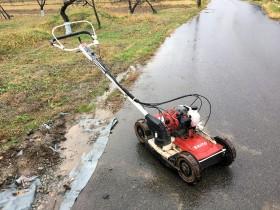 クボタ 法面畦(あぜ)草刈機 SGC-S500 現状 ジャンク 部品取り