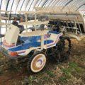 イセキ ISEKI 6条 田植機 PA60D ラブリー63 パワステ ダブル車輪(補助車輪付) 389アワー 実働品 中古