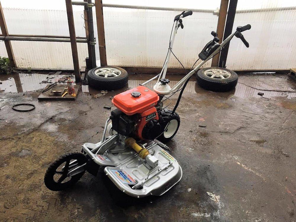 オーレック ウィングモア 2面畦(あぜ)草刈機 WM606A エンジン GH170-1 6馬力 極上美品 中古