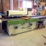 飯田工業 直角二面かんな盤 ピラー DR-403H 製材大工 木工機械 集塵機 ダスタック DT-5M型 実働品 美品 中古