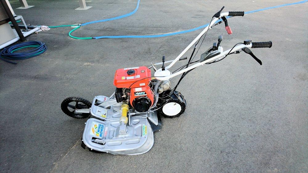 オーレック WM606B ウィングモア 2面畦草刈機 6馬力 整備済 作業部カバー状態良好 中古