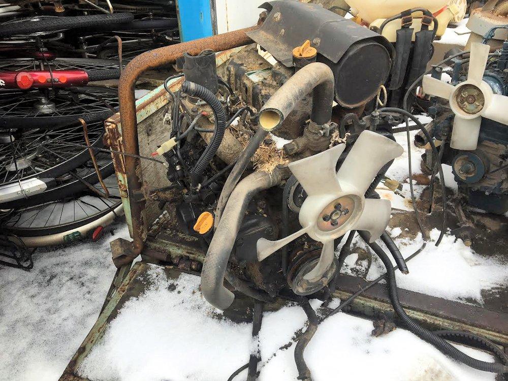 ヤンマー ディーゼルエンジン 3TNC78-RB1C 中古