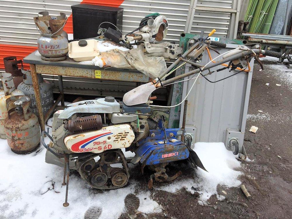 ISEKI イセキ ヰセキ 管理機 耕運機 KMS6D 現状ジャンク 部品取り 中古