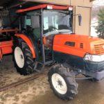クボタ トラクター KL330 976アワー 33馬力 キャビン付 エアコン付 ロータリー付 電気式整地キャリア付属 極上美品 中古